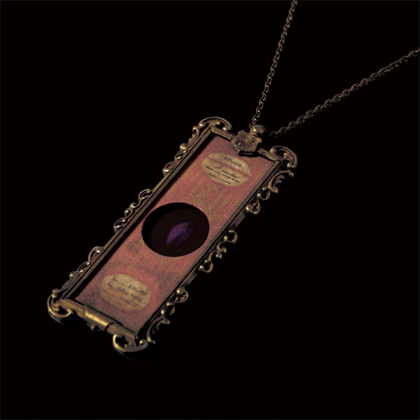 V. Sabrina,アンティーク,ネックレス,真鍮,プレパラート,マウス,肝臓