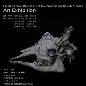V. Sabrina,展示,分子生物学会,Art exhibition,神戸